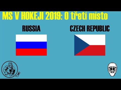 [MS 2019] Rusko - Česko / Boj o bronz - O 3. místo | Celý zápas