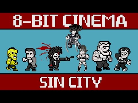 8-Bit Video Game Version Of Sin City Could Have Been 4-Bit