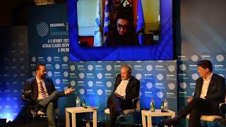 Ο Νεκτάριος Φαρμάκης στην συνεδρία του Regional Growth Conference με θέμα:Μεσογειακή διάσταση της ΕΕ