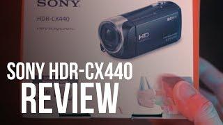 Sony CX 440 Handycam Review