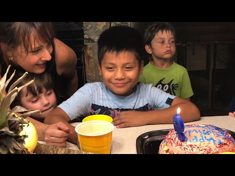 Taken into custody at the border, David Xol was sent back to gang-ridden rural Guatemala -- but his son was held in detention. Now 9 years old and sheltered by a loving Texas family, Byron Xol may be returned to his parents and homeland. (July 12)