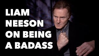 Liam Neeson On Being A Badass, Selfies With Fans, His Favorite Joke And COLD PURSUIT