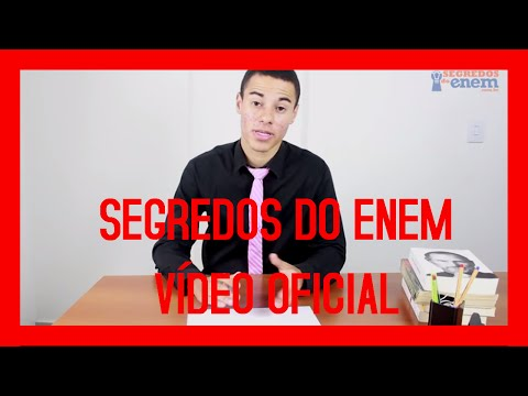 #3 Segredos Do Enem Login - Lucas Marques - Vídeo Oficial!
