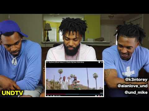 YG - Big Bank ft. 2 Chainz, Big Sean, Nicki Minaj [REACTION]
