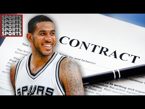 LaMarcus Aldridge Signs 3 Year Extension With Spurs