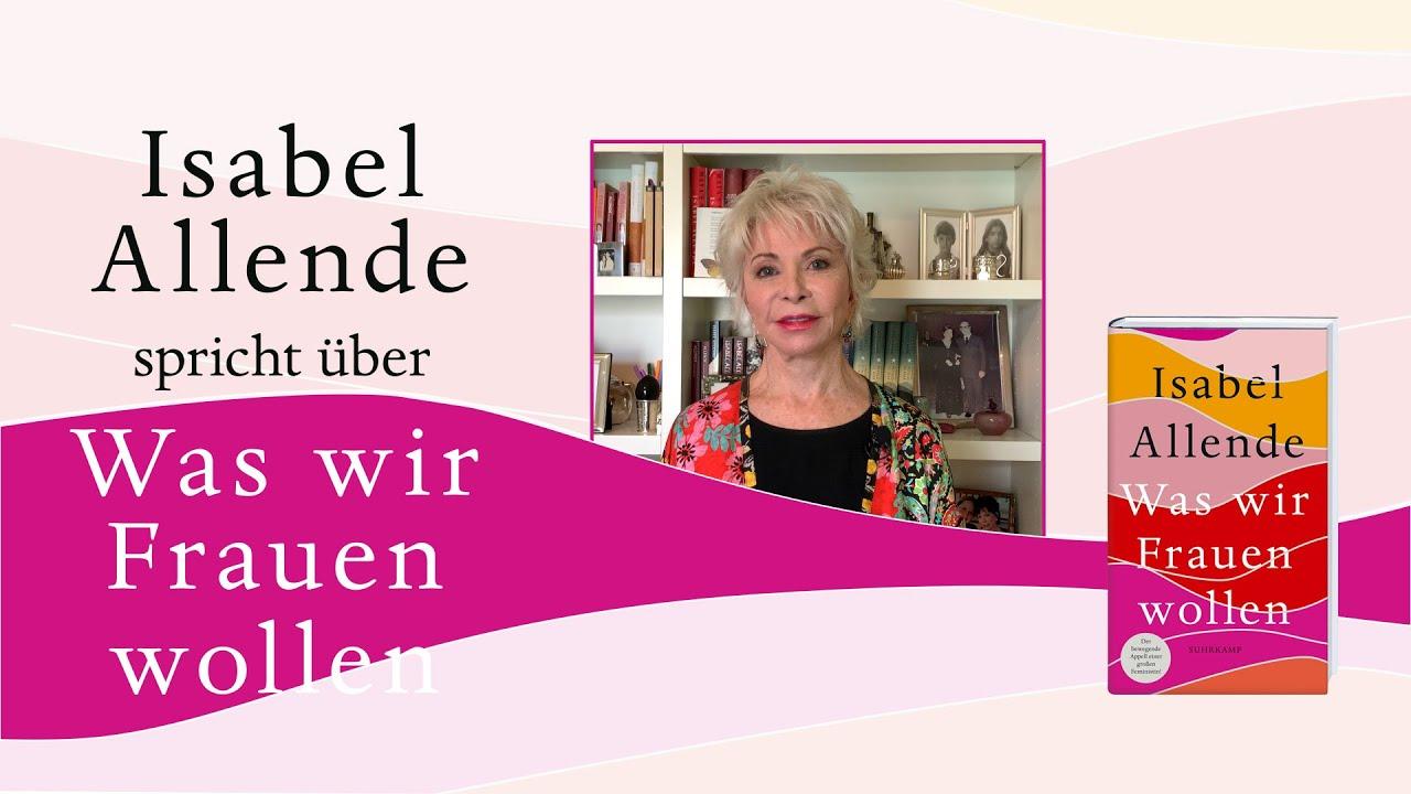 Isabel Allende spricht über <I>Was wir Frauen wollen</I>