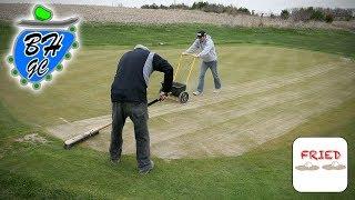 Backyard Golf Course Preparation