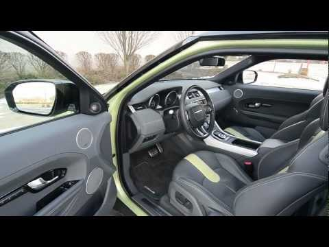 2012 Range Rover Evoque Coupe - WINDING ROAD Quick Drive