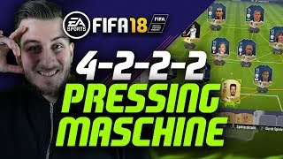 Fifa 18: 4222 Formation Guide - Die Pressing Maschine