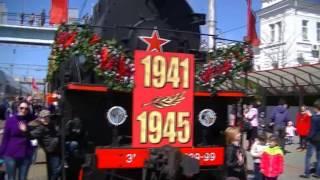 Ретро поезд ст. Новороссийск