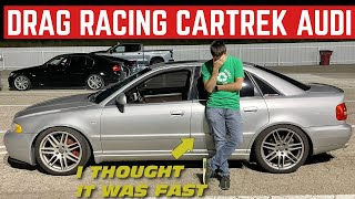 I Took The CarTrek Audi S4 DRAG RACING (And It's Slow As Dirt)