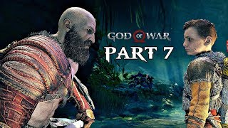 God Of War Walkthrough Part 7 - The Giants Secrets | PS4 Pro Gameplay