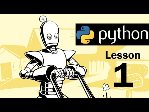 Lesson 1 – Python Programming (Automate the Boring Stuff with Python)
