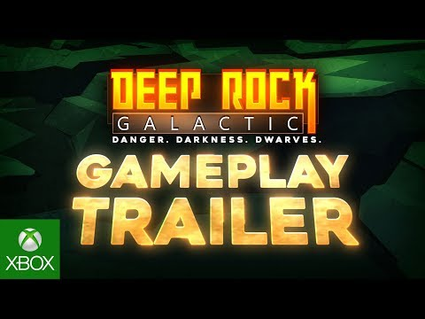 Deep Rock galactic Gameplay Trailer