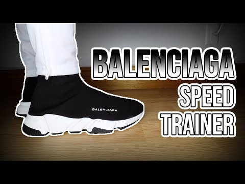 BALENCIAGA SPEED TRAINER REVIEW