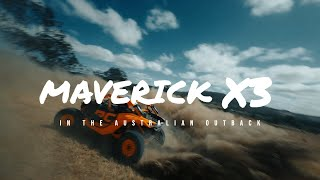 Can-Am Maverick X3 in the Australian Outback   FPV 4K
