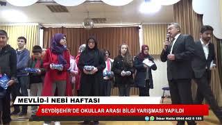 Mevlid-i Nebi haftasında okullar arası bilgi yarışması