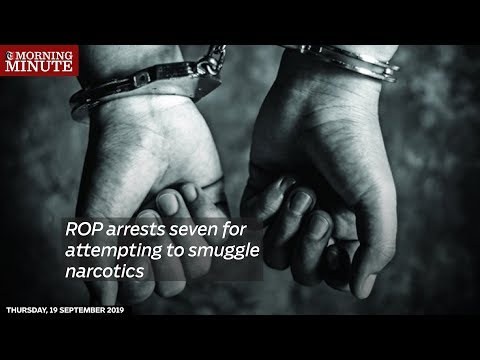 ROP arrests seven for attempting to smuggle narcotics