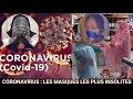 Covid-19(coronavirus), découvrez quelques masques drôles pour se protéger