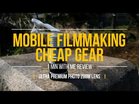 ULTRA PREMIUM TELEPHOTO LENS…Review  1 Min With Me Video Blog