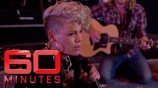 P!nk's exclusive 'Barbies' performance   60 Minutes Australia