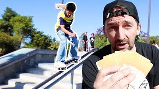 TRICKS FOR PRIZES AT FREMONT SKATEPARK!!!!