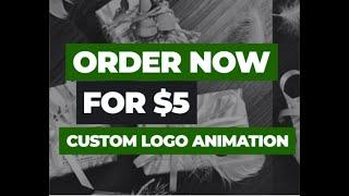 i will create a custom dynamic logo animation