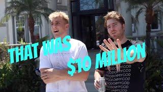 Jake Paul Making Shane Dawson Feel Poor