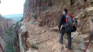 North Rim to South Rim hike!