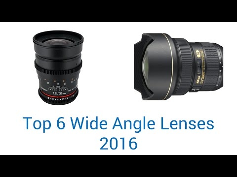 6 Best Wide Angle Lenses 2016