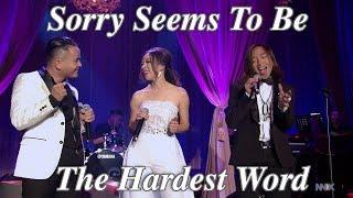 Sorry Seems To Be The Hardest Word - Justin,Vasa & Hoai Phuong