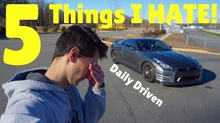 Do I HATE Anything About Owning A Nissan GT-R?! *1 Year Later*