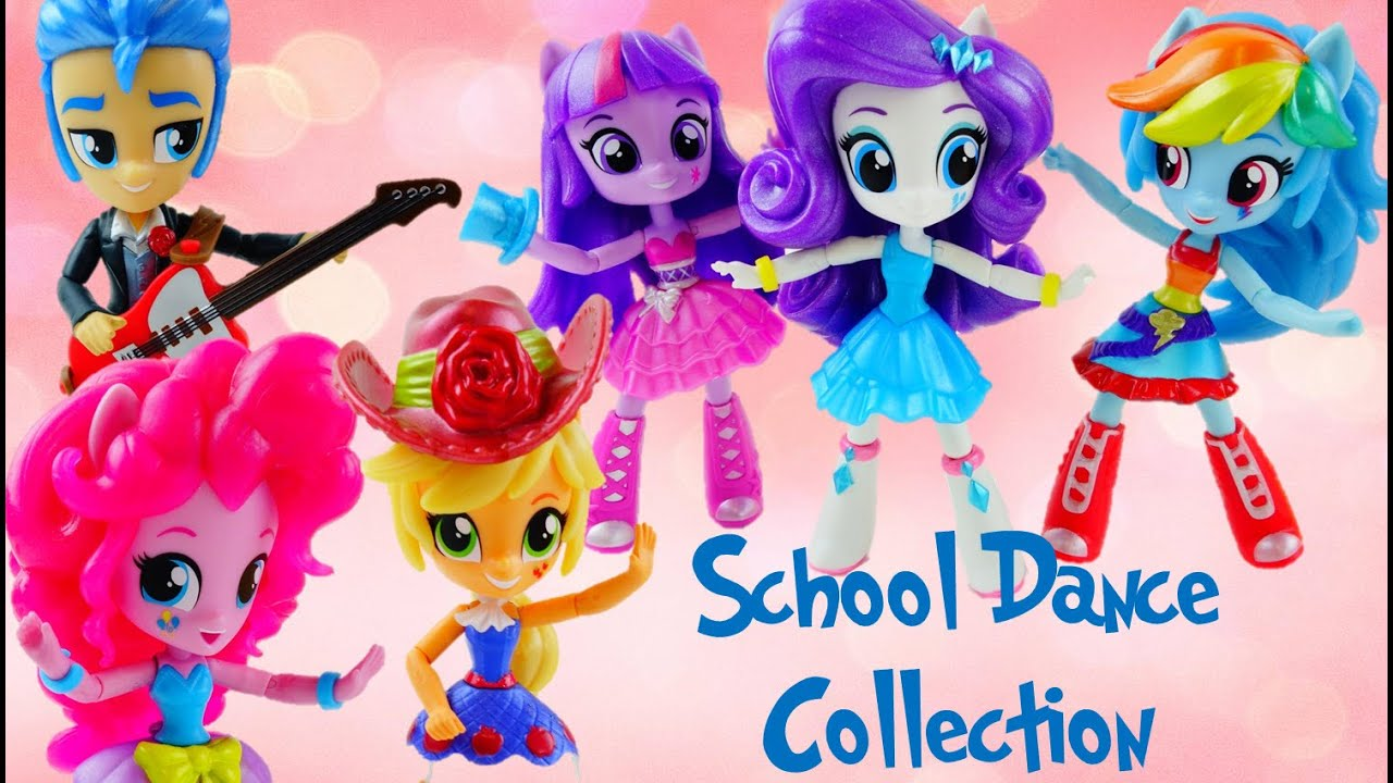 NEW My Little Pony Equestria Girls Minis School Dance Collection Fall Formal Unboxing and Review