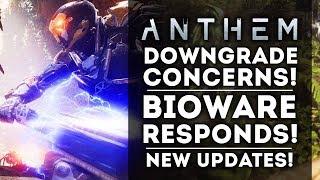 Anthem - Downgrade Concerns: Bioware Responds!  New Creature Info!  New Gameplay Details!