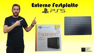 Externe Festplatte für die Playstation 5 von Seagate 6 TB (sehr leise)