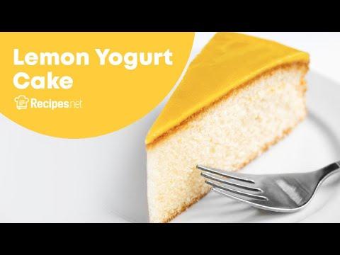 Ina Garten's Lemon Yogurt Cake Recipe