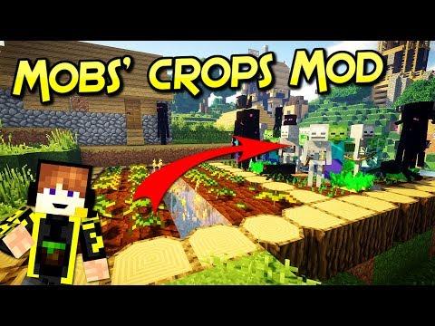 Mobs' crops  Mod | Crea Tu Granja De Monstruos | Para Minecraft 1.12.2 – 1.7.10 | Review En Español
