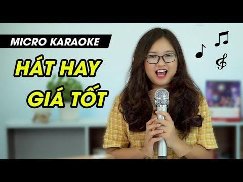 Mic Hát Karaoke Không Dây Excelvan K18U - K18V l Âm Thanh Chuyên Nghiệp - Karaoke Bất Cứ Nơi Đâu
