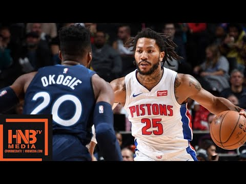 Detroit Pistons vs Minnesota Timberwolves - Full Game Highlights | November 11, 2019-20 NBA Season
