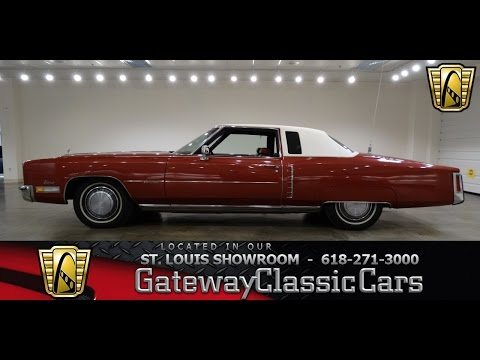 Video of Classic '72 Cadillac Eldorado located in O'Fallon Illinois - $10,595.00 - KDKB