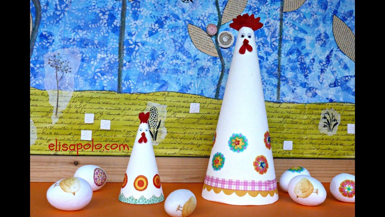 DIY, Cómo hacer una Gallina de Pascua, Ideas para Pascua, Easter Chickens, Easter Ideas.