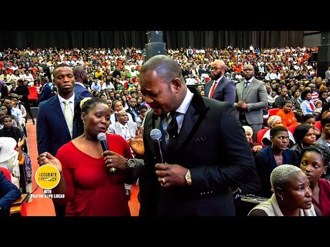 DOWNLOAD: A doubtful woman publicly CHALLENGES Pastor Alph Lukau Mp4