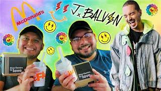 J Balvin - McDonald's Meal | Mukbang | Review