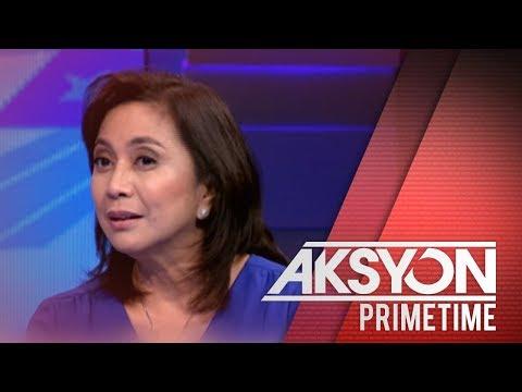 [News5]  VP Robredo, naniniwalang hindi magbibitiw si Pres. Duterte