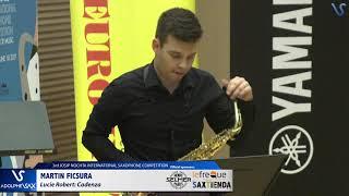 Martin Ficsura plays Cadenza by Lucie Robert