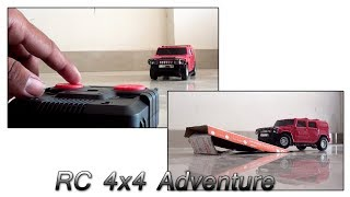 #RC Car hummer stunt and test drive