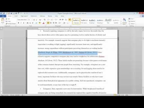 How to Reference a YouTube Video in APA Format