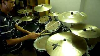 drum cover - Fee - Arms that hold the universe