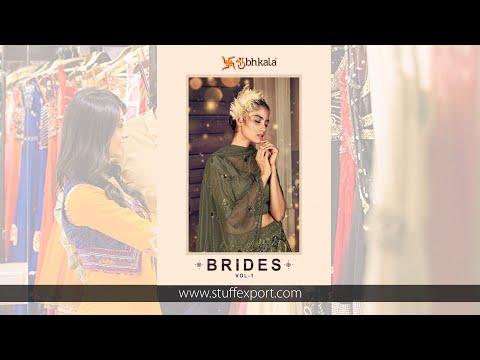Shubhkala Brides Vol-1 Exclusive Wedding Lehenga Choli Catalog