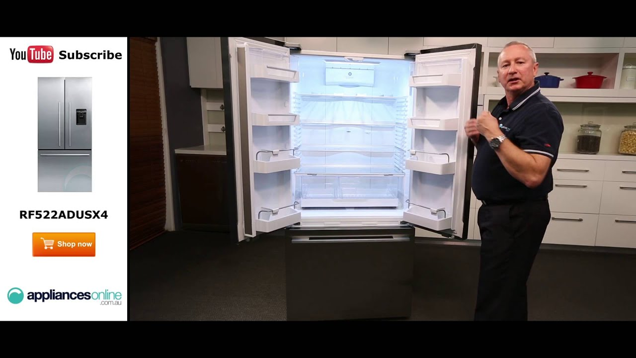 Fisher Paykel Rf522adusx4 519l French Door Fridge Appliances Online